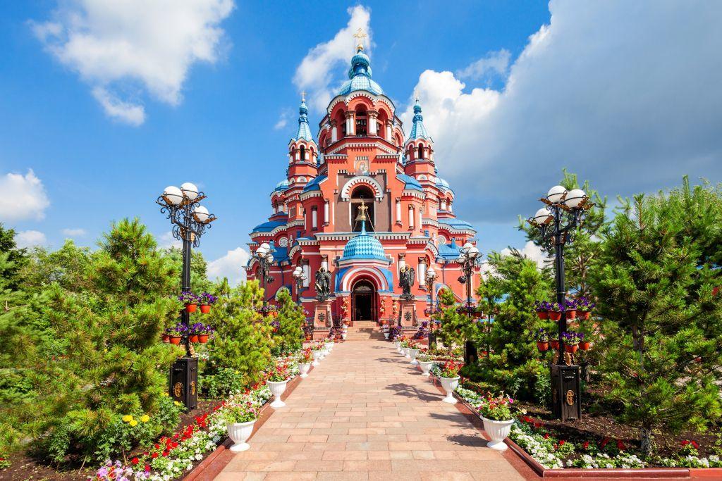 Kasaner Kathedrale in Irkutsk