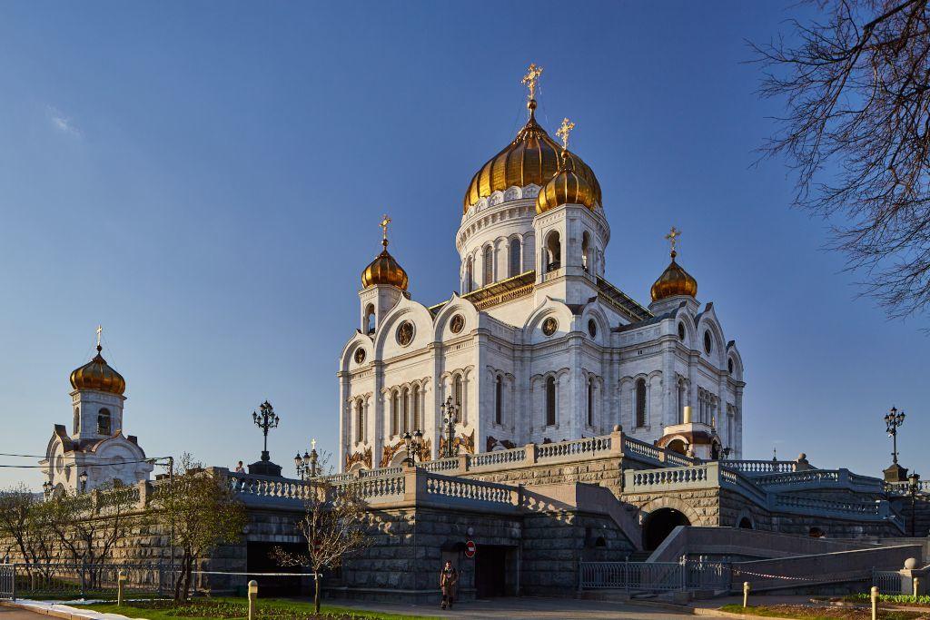 Christ-Erlöser-Katehdrale der russisch-orthodoxen Kirche in Moskau