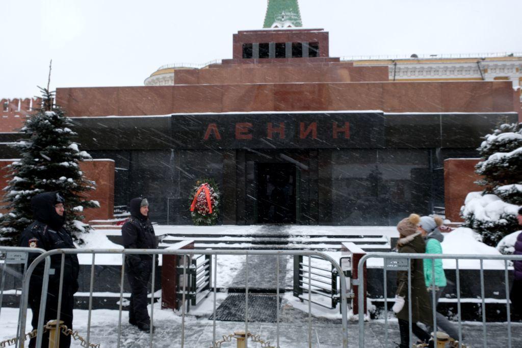 Eingang zum Lenin-Mausoleum