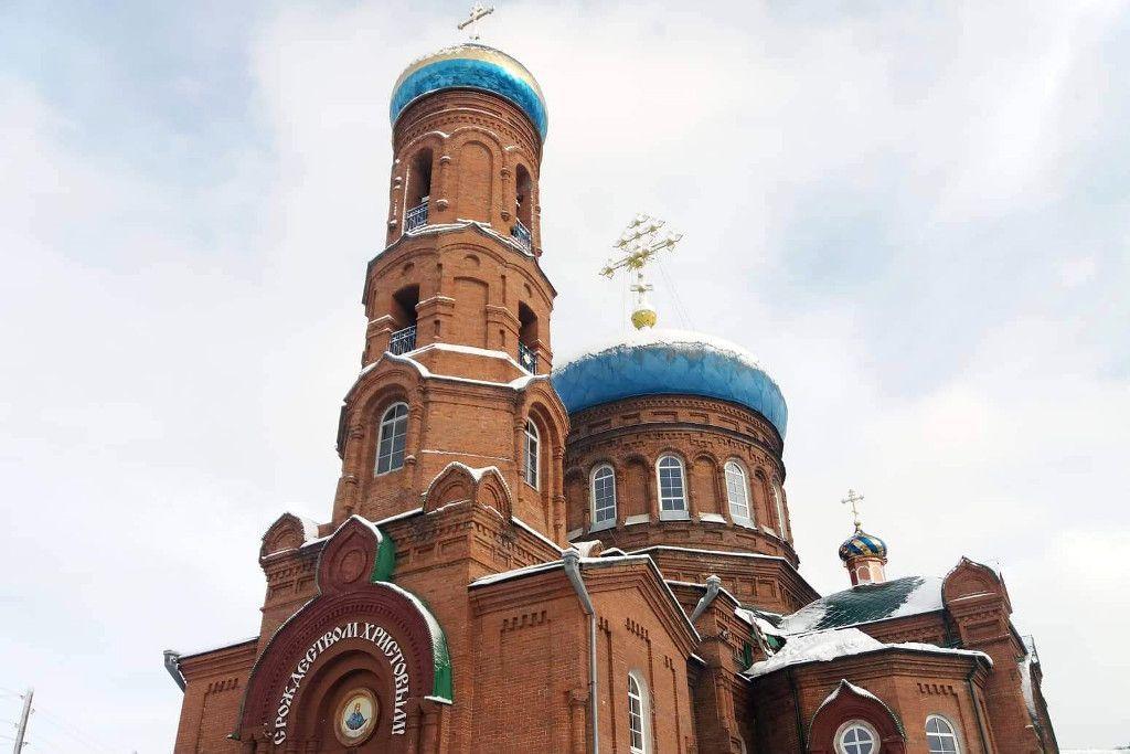 Pokrowski Kathedrale in Barnaul