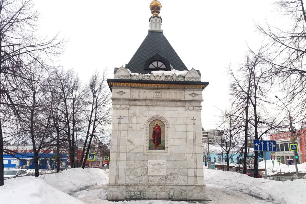 Alexander-Newski-Kapelle in Barnaul