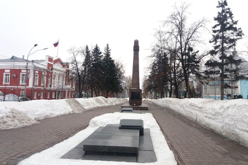 Denkmal den Kämpfern für den Sozialismus