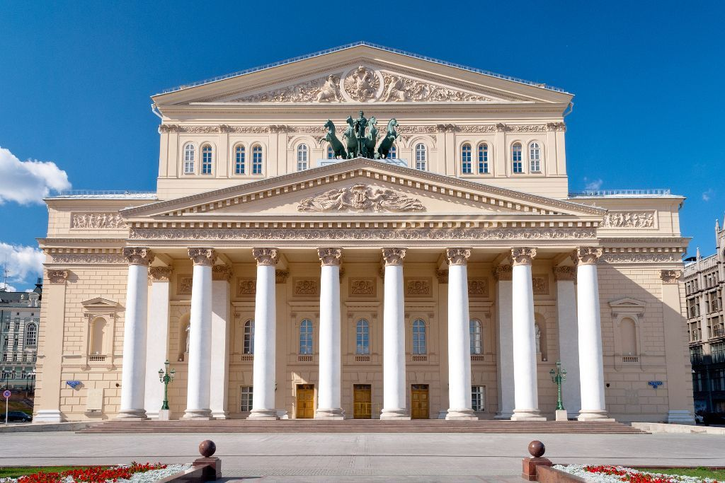 Bolschoi Theater in Moskau