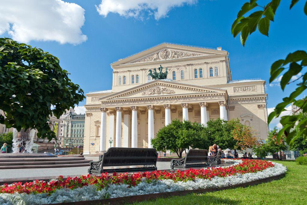 Parkanlage vor dem Bolschoi-Theater