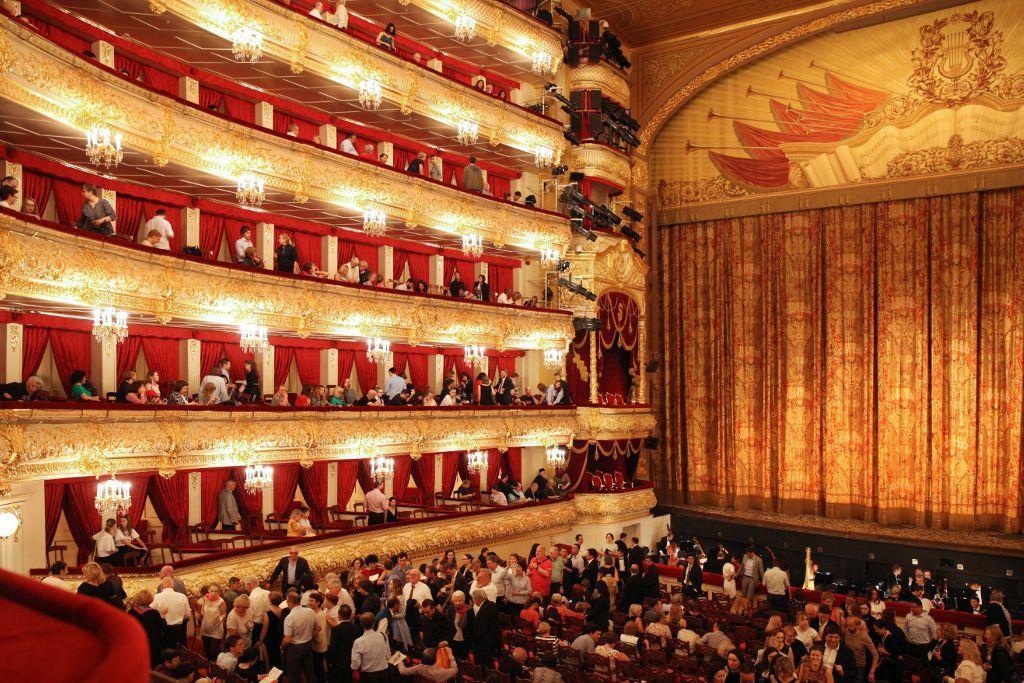 Historische Bühne Bolschoi-Theater