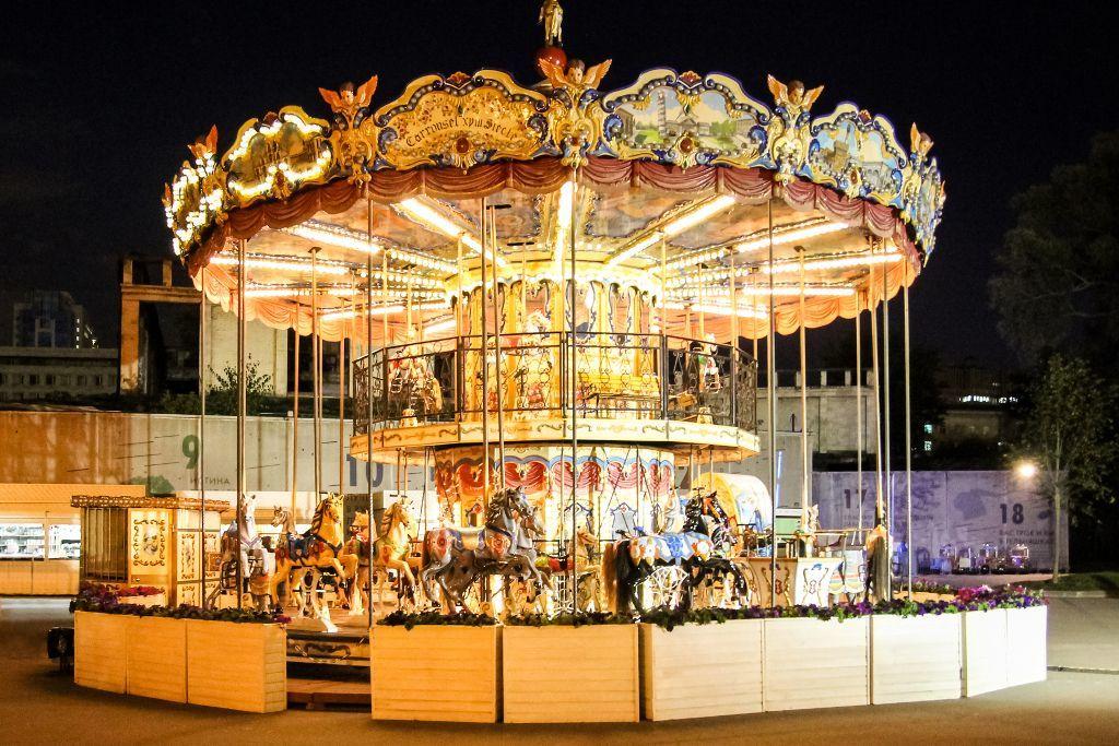 Kinder Karusell im Gorki Park