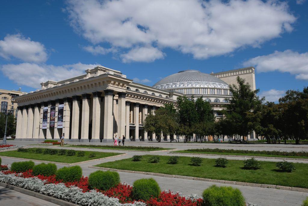 Operntheater Nowosibirsk Seitenansicht