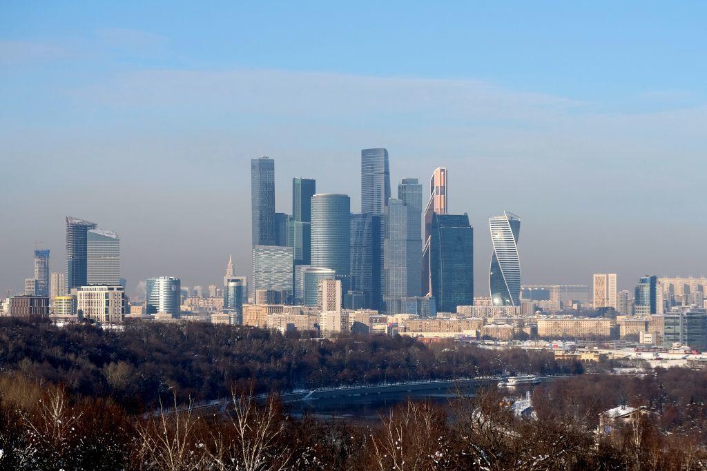 Moskau City Hochhäuser