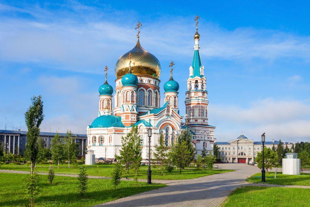 Mariä-Himmelfahrt-Kathedrale in Omsk