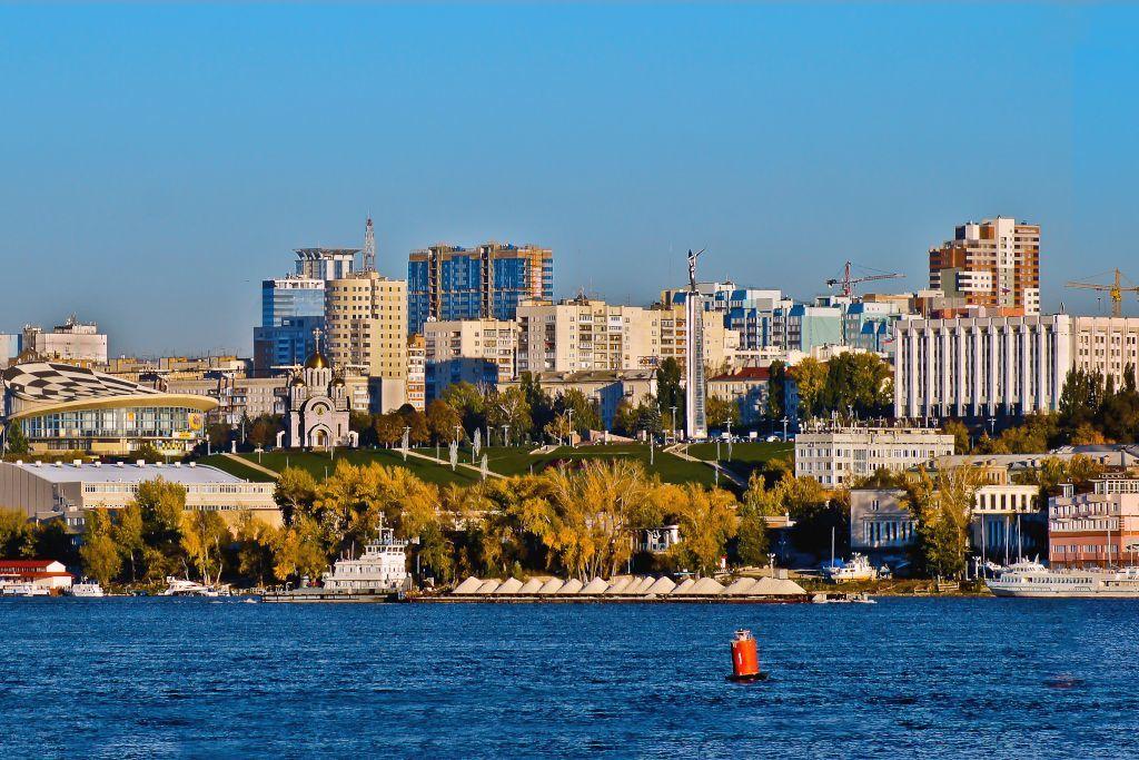 Blick auf Samara