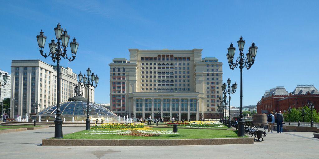 Das Four Seasons Hotel in Moskau - Beste Hotels in Moskau