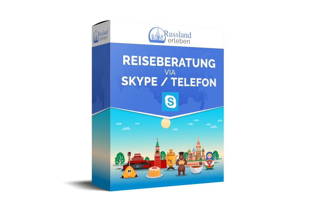 Russland Reise Support Angebot Reiseberatung Skype