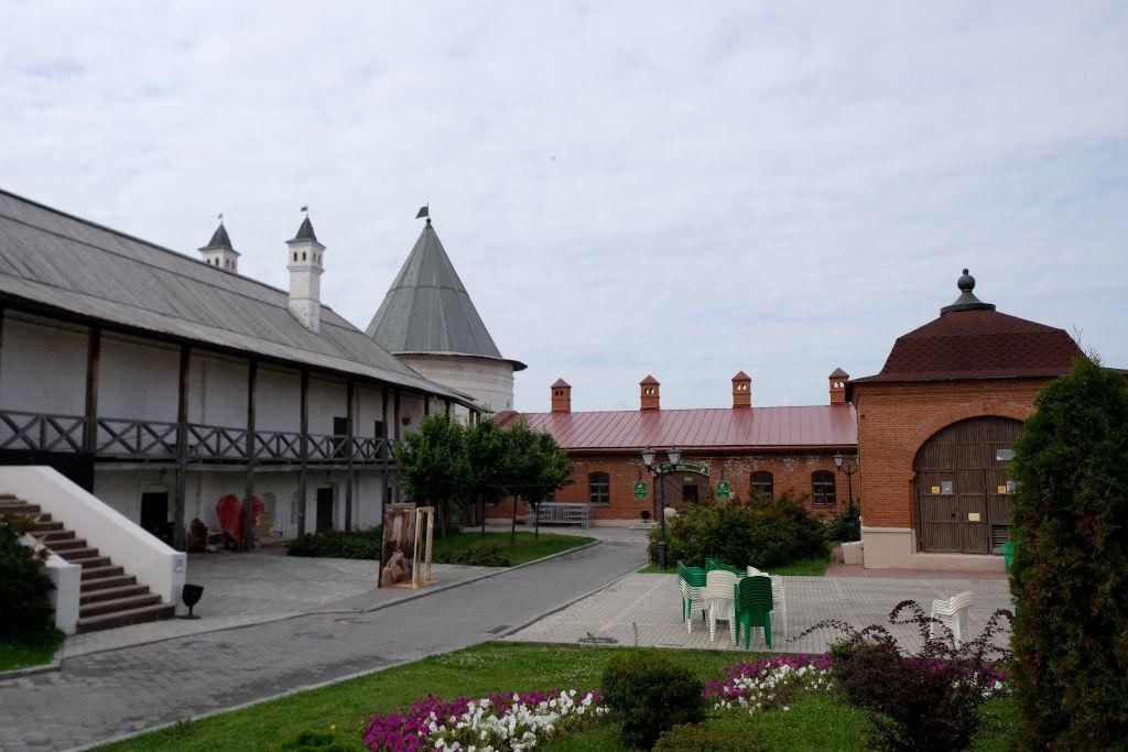 Kremlmauern in Kasan