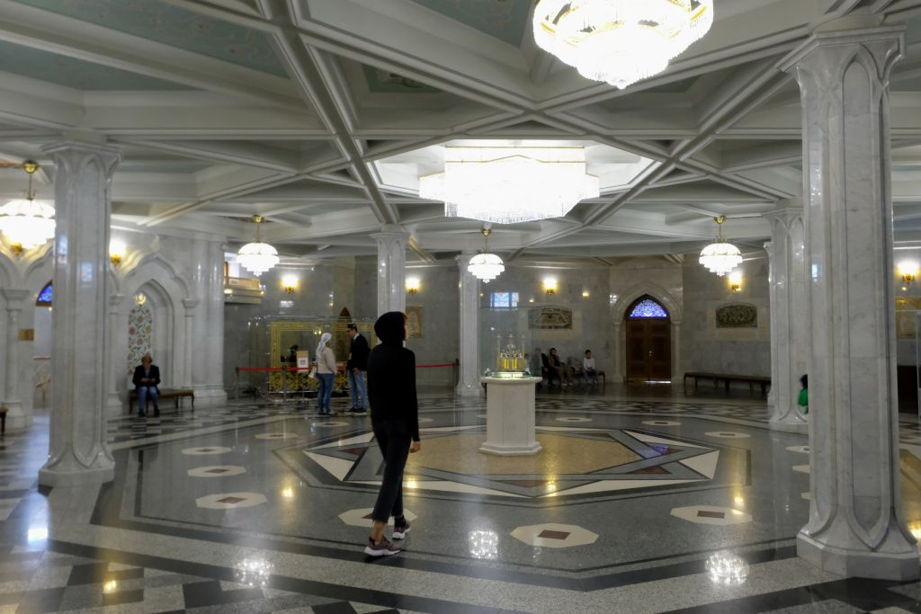 Innenbereich der Kul-Scharif-Moschee in Kasan