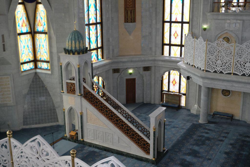 Gebetsbereich der Kul-Scharif-Moschee in Kasan