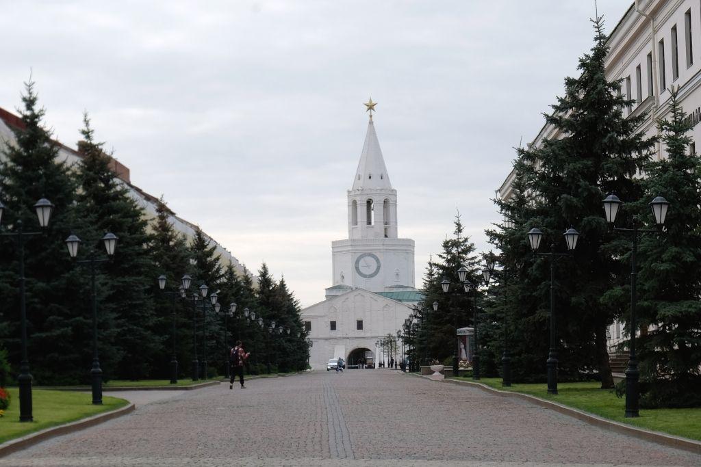 Erlöserturm im Kreml von Kasan
