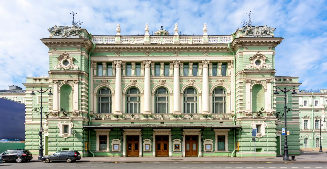 Mariinski Theater in Sankt Petersburg