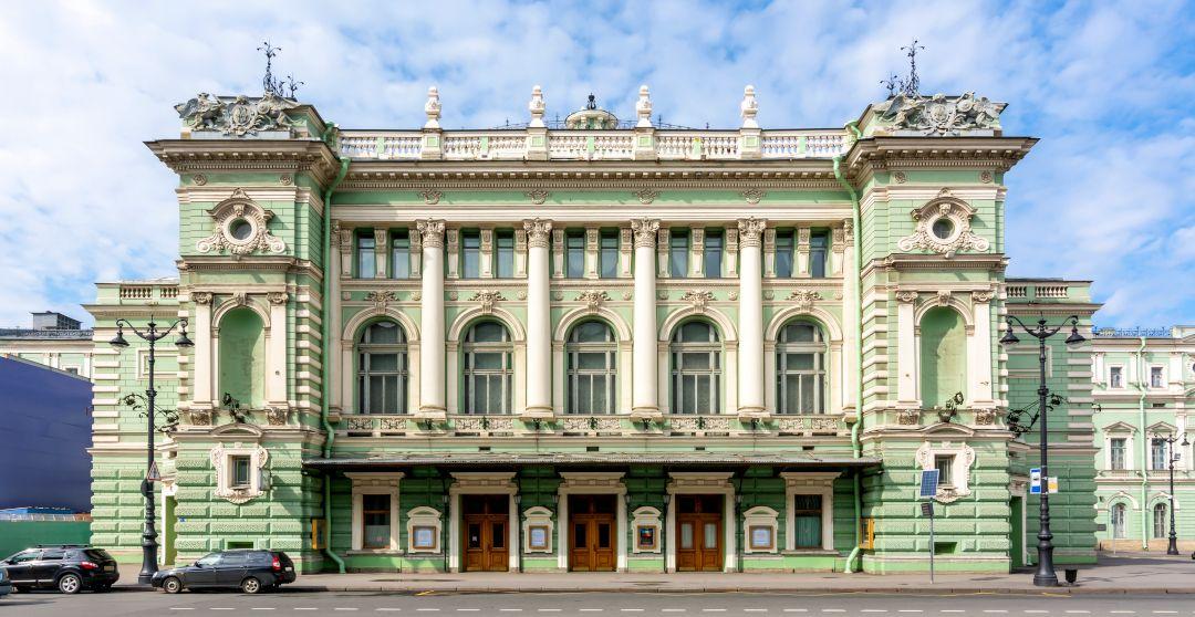 Mariinski Theater in Sankt Petersburg