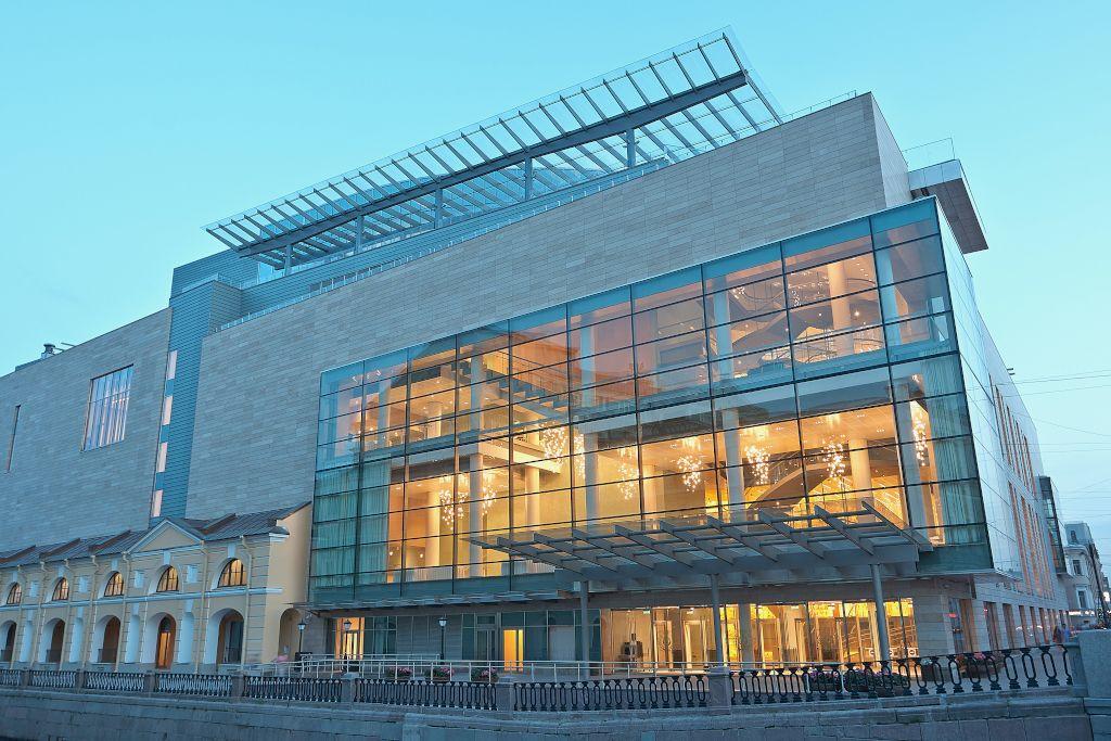 Neues Gebäude des Mariinski Theaters in Sankt Petersburg
