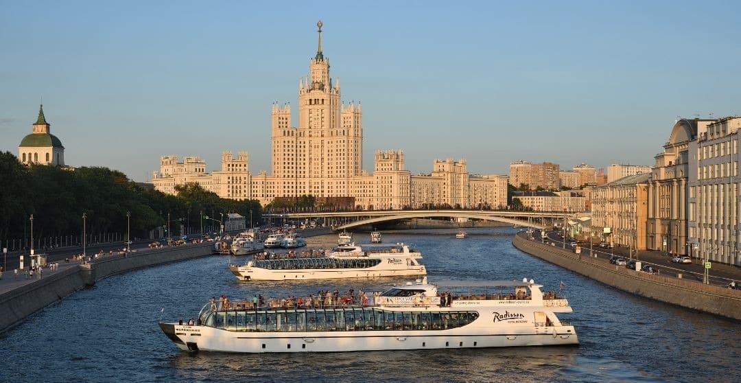 Moskau Aktivitäten Bootstour auf der Moskwa