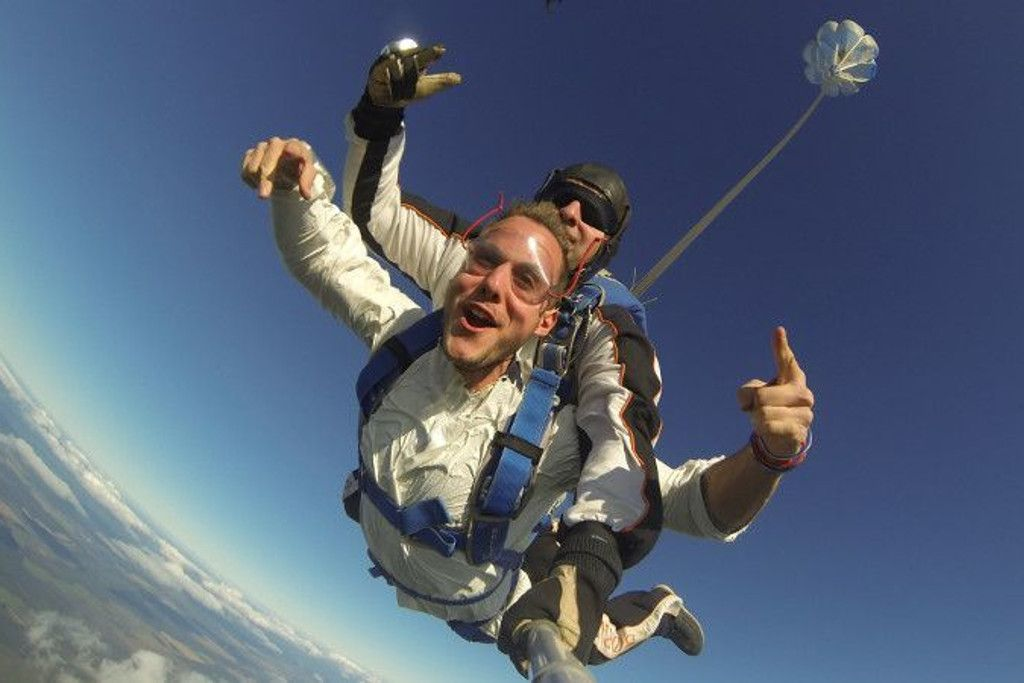 Skydive in Russland