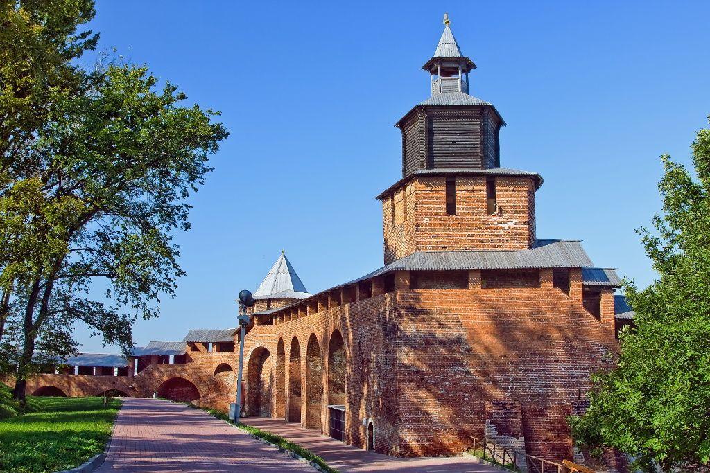 Kreml Sehenswürdigkeit in Nischni Nowgorod