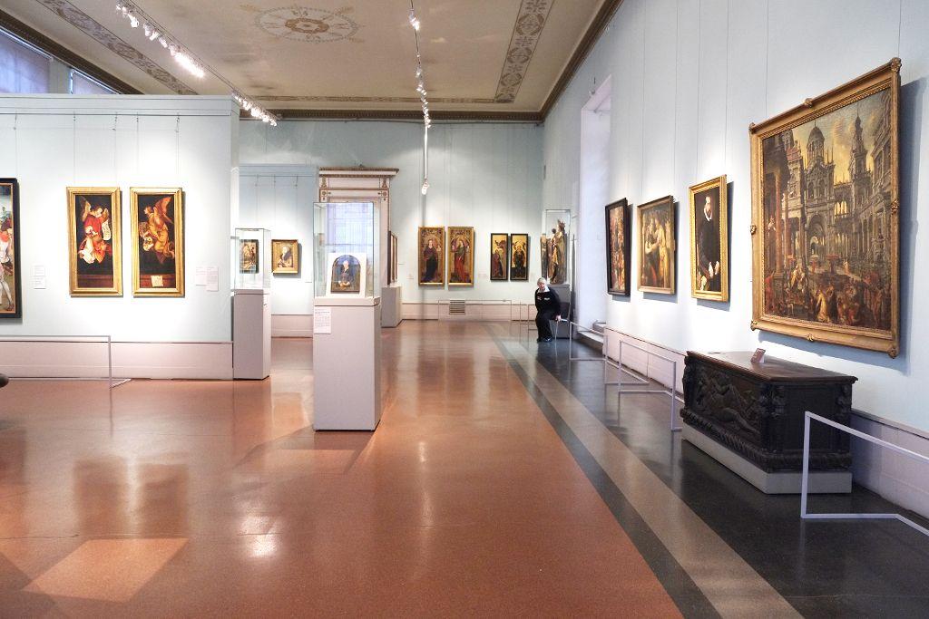Gemäldesaal im Puschkin Museum