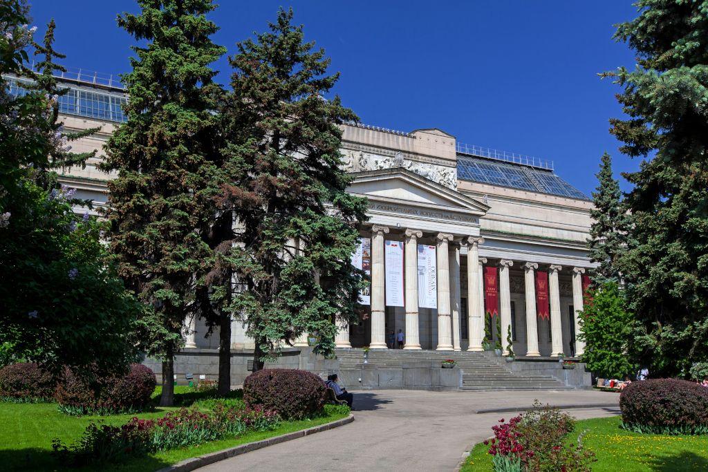 Puschkin Museum in Moskau Eingangsbereich