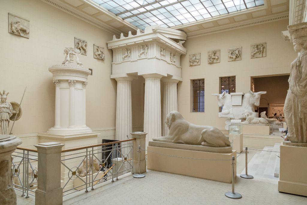 Archeologischer Bereich des Puschkin Museums in Moskau