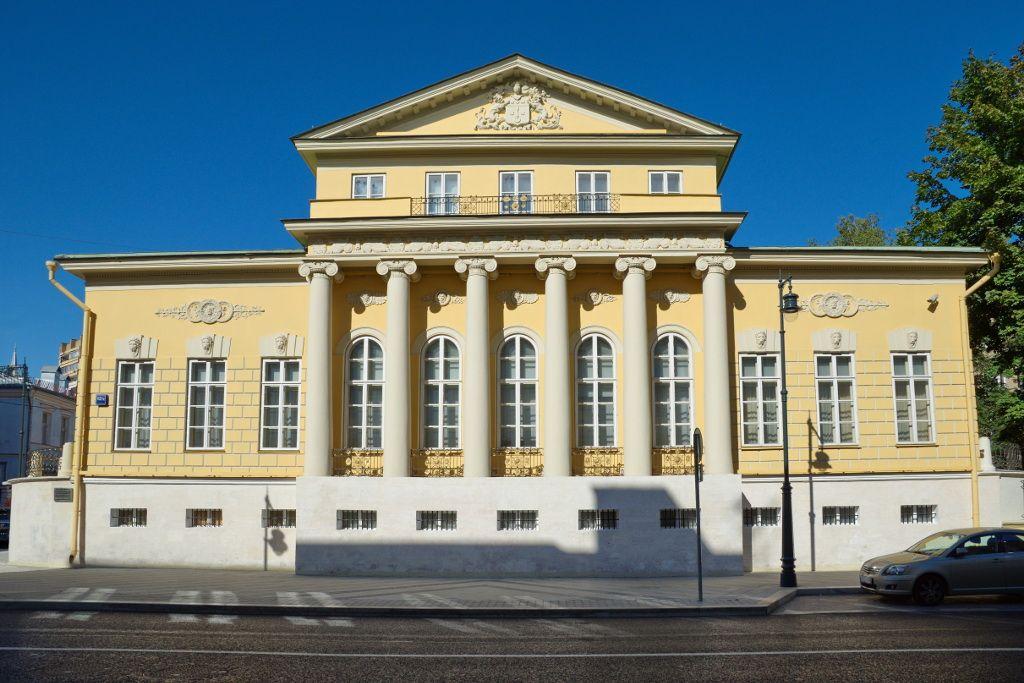 Staatliches Alexander Puschkin Museum in Moskau