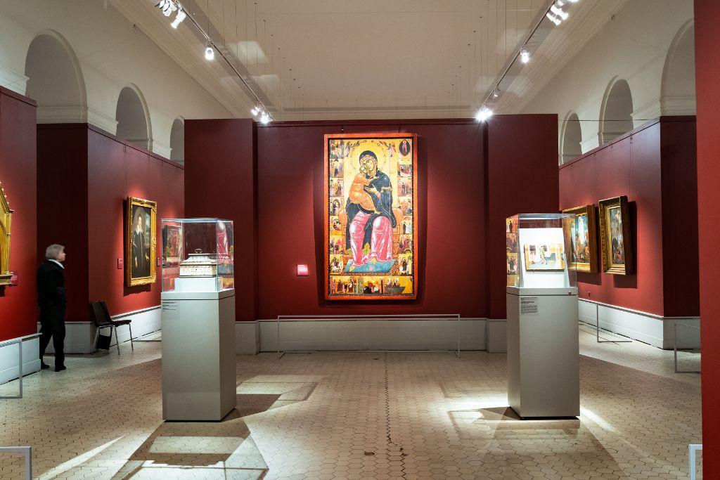 Byzantinische Ikonen und Kunstwerke
