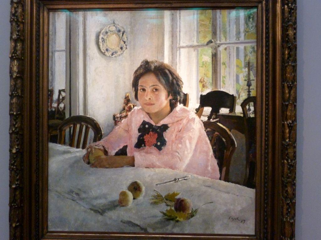 Valentin Serow - Das Mädchen mit den Pfirsichen
