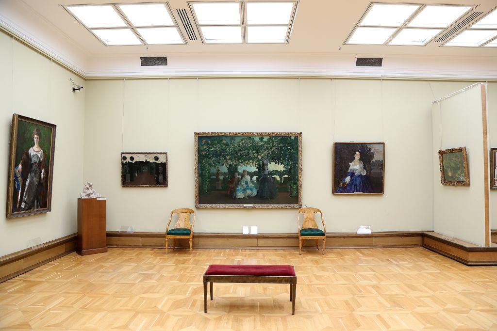 Gemälde in der Tretjakow-Galerie in Moskau
