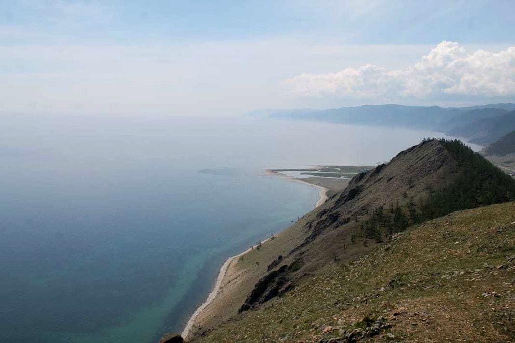 Bärenberg mit Blick auf den Baikalsee