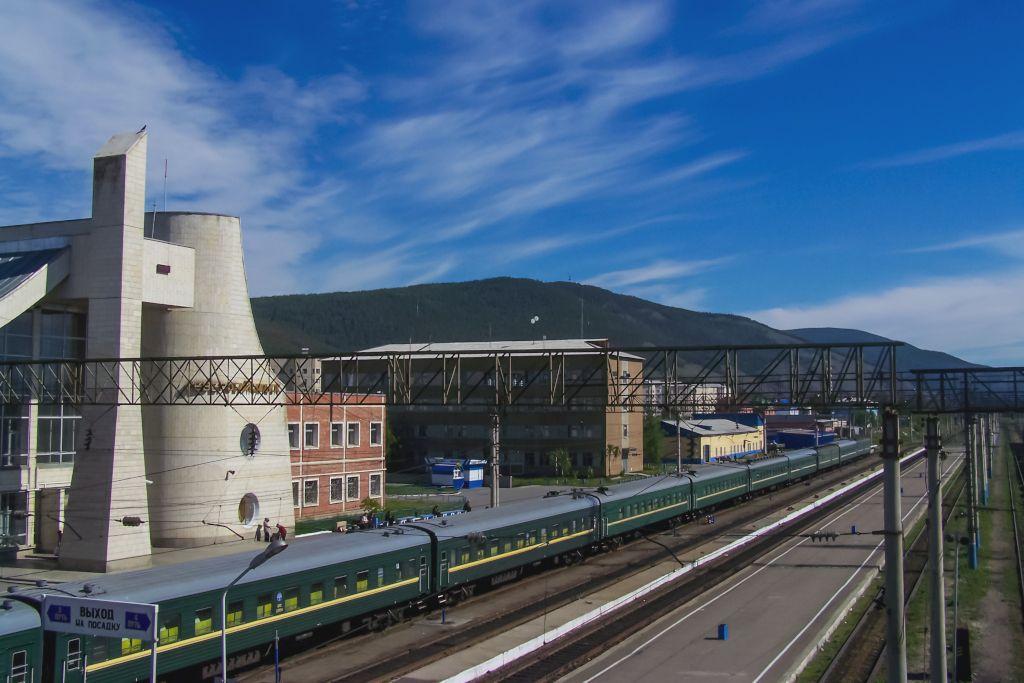 Bahnhof von Sewerobaikalsk