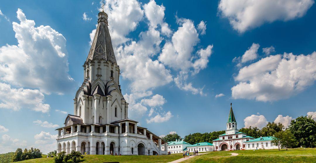Freilichtmuseum Kolomenskoje in Moskau