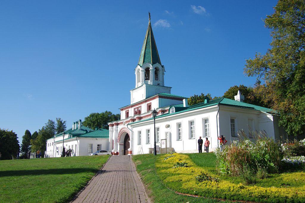 Erlöser Tor Kolomenskoje Freilichtmuseum