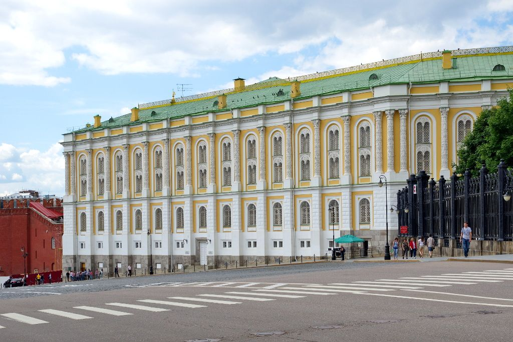 Rüstkammer im Kreml in Moskau