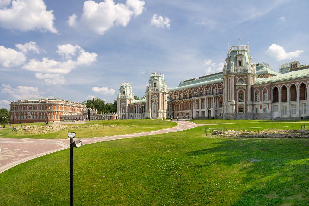 Zarizyno Freilichtmuseum in Moskau