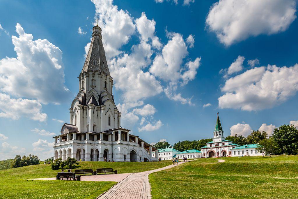 Kolomenskoje Freilichtmuseum in Moskau