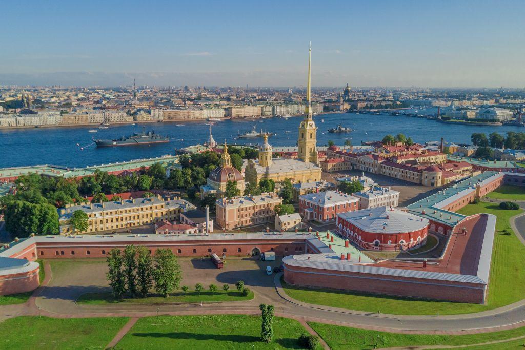 Peter-und-Paul Festung in Sankt Petersburg