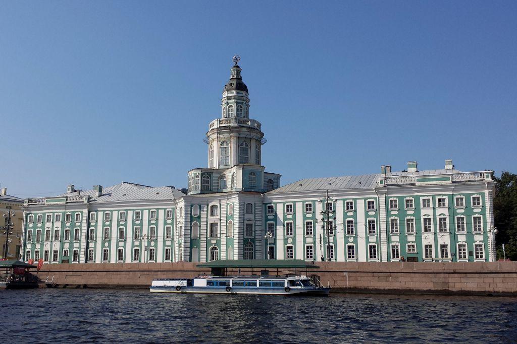 Kunstkammer von Peter dem Großen in Sankt Petersburg