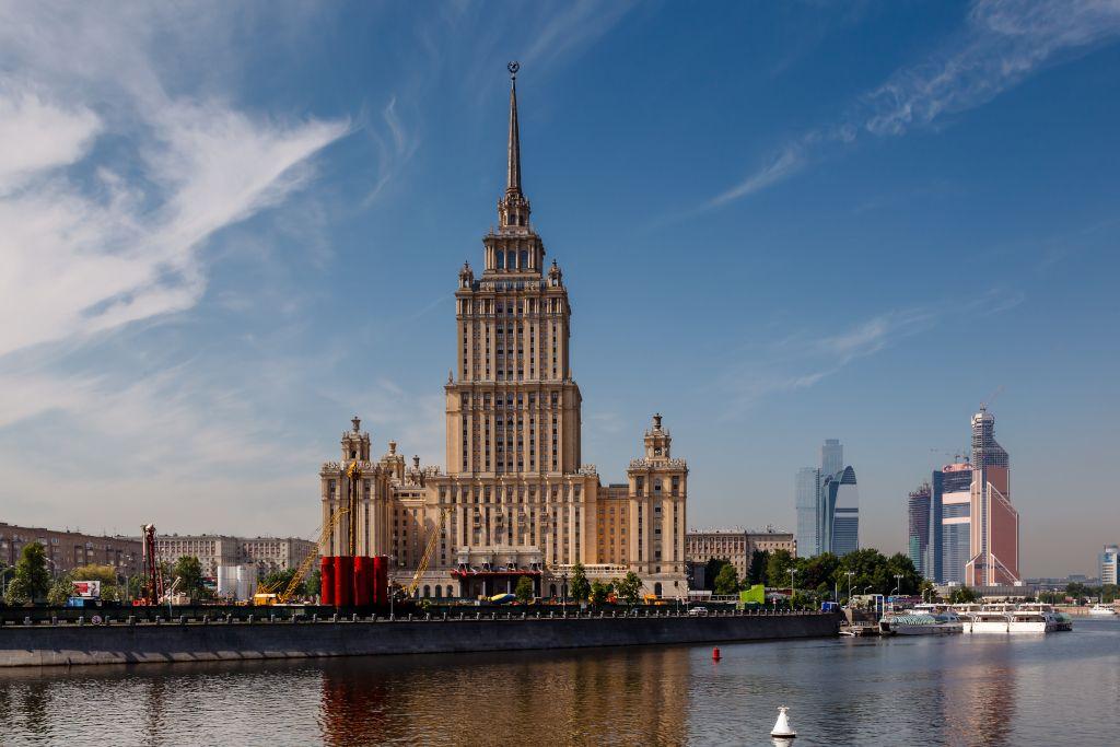 Sieben Schwestern Stalin in Moskau - Hotel Ukraine