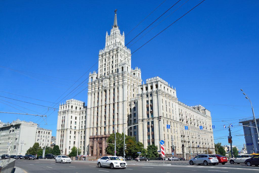 Sieben Schwestern Stalin in Moskau - Haus am Roten Tor