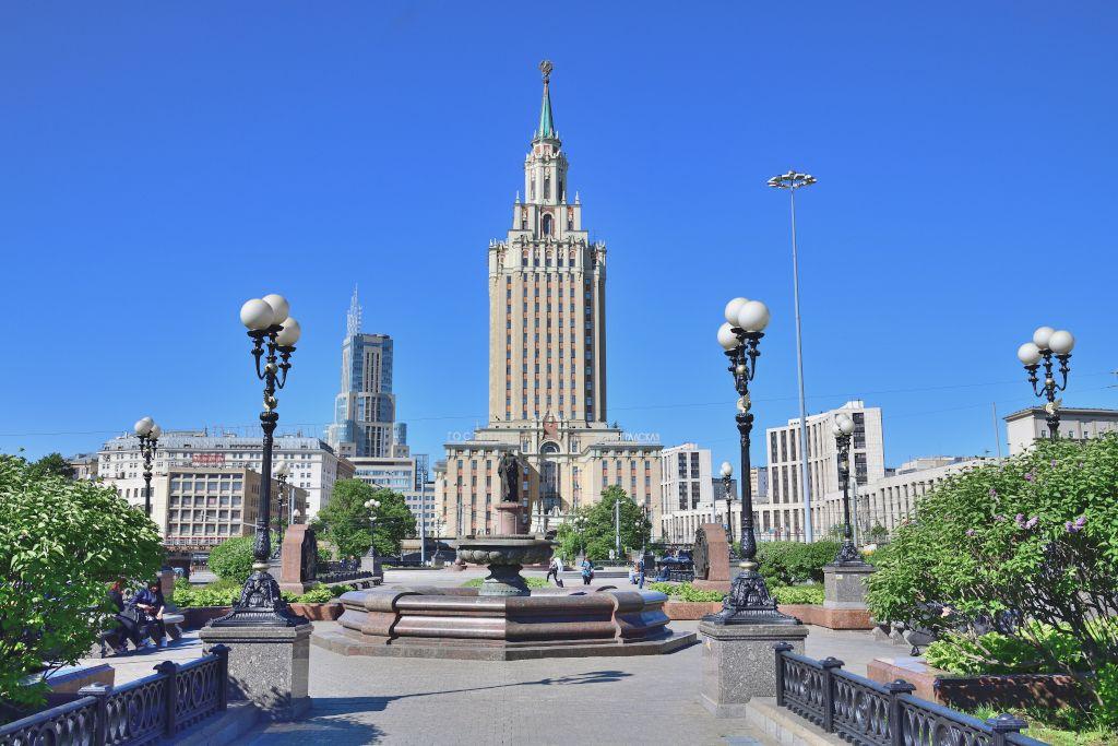 Sieben Schwestern Stalin in Moskau - Hotel Leningradskaya