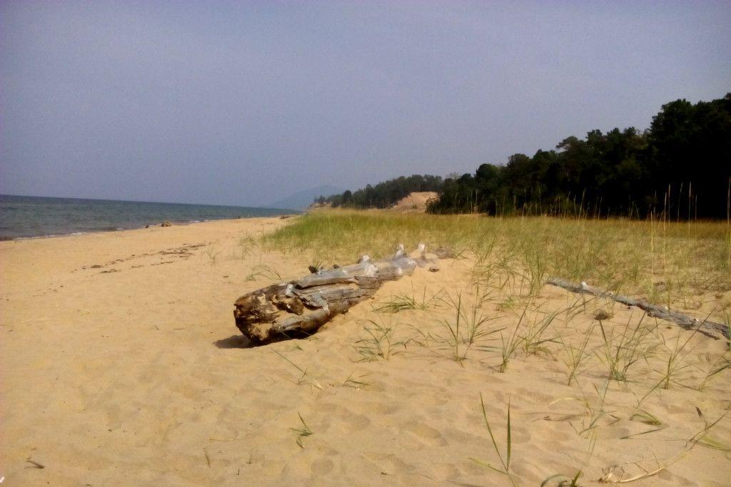 Sandstrand an der Bargusin Bucht