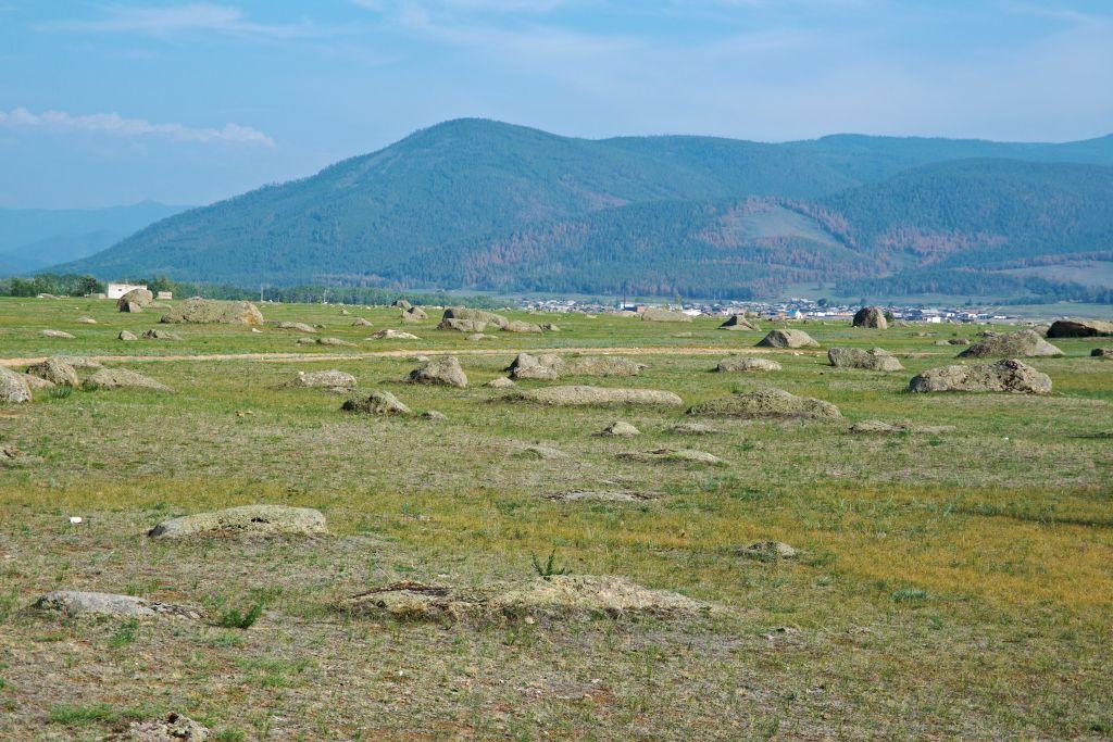 Steingarten im Bargusin Tal bei Ust-Bargusin