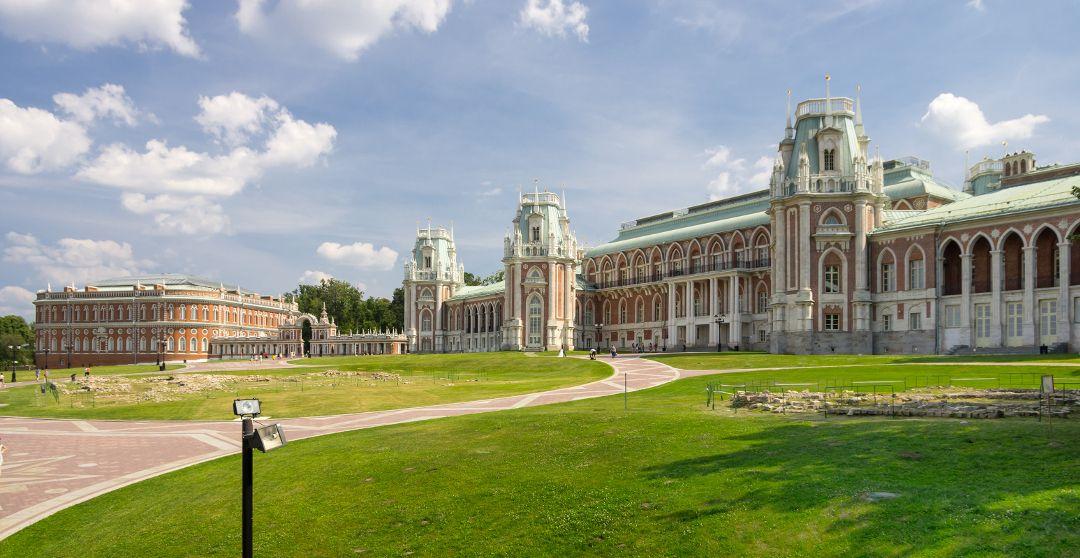 Freilichtmuseum Zarizyno in Moskau