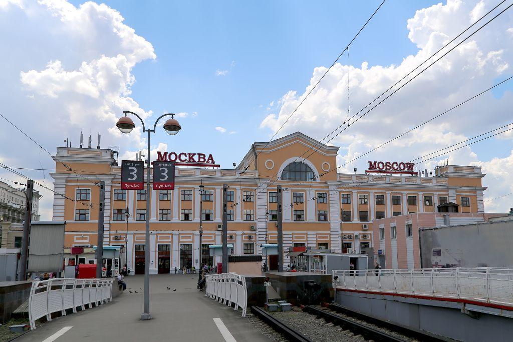 Sawjolower Bahnhof in Moskau