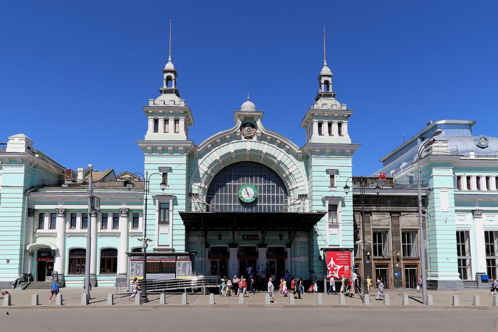 Belorussischer Bahnhof in Moskau